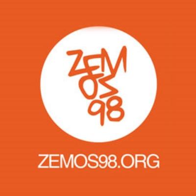 """Zemos98   Colectivo dedicado a la cultura crítica audiovisual, el procomún, el feminismo y la remezcla. Formado -entre otros- por los hermanos Benito y Pedro Jiménez, que, a su vez, forman el dúo """"Los Voluble"""".  Ponentes en la  Jornada sobre Live Cinema en la 59ª SEMINCI."""