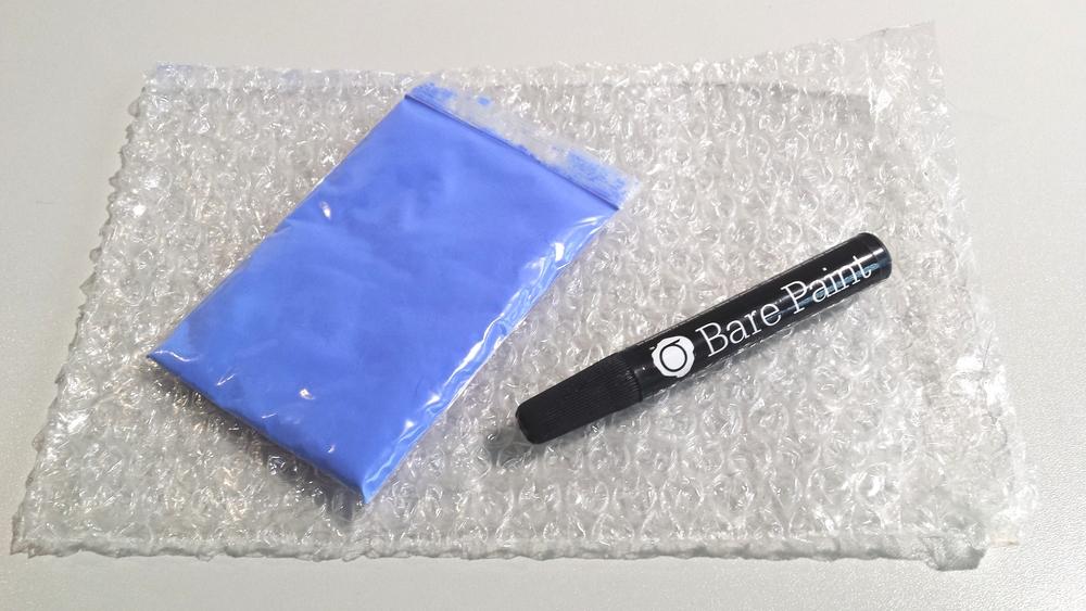 Pigmento termocrómico y pinturaconductiva