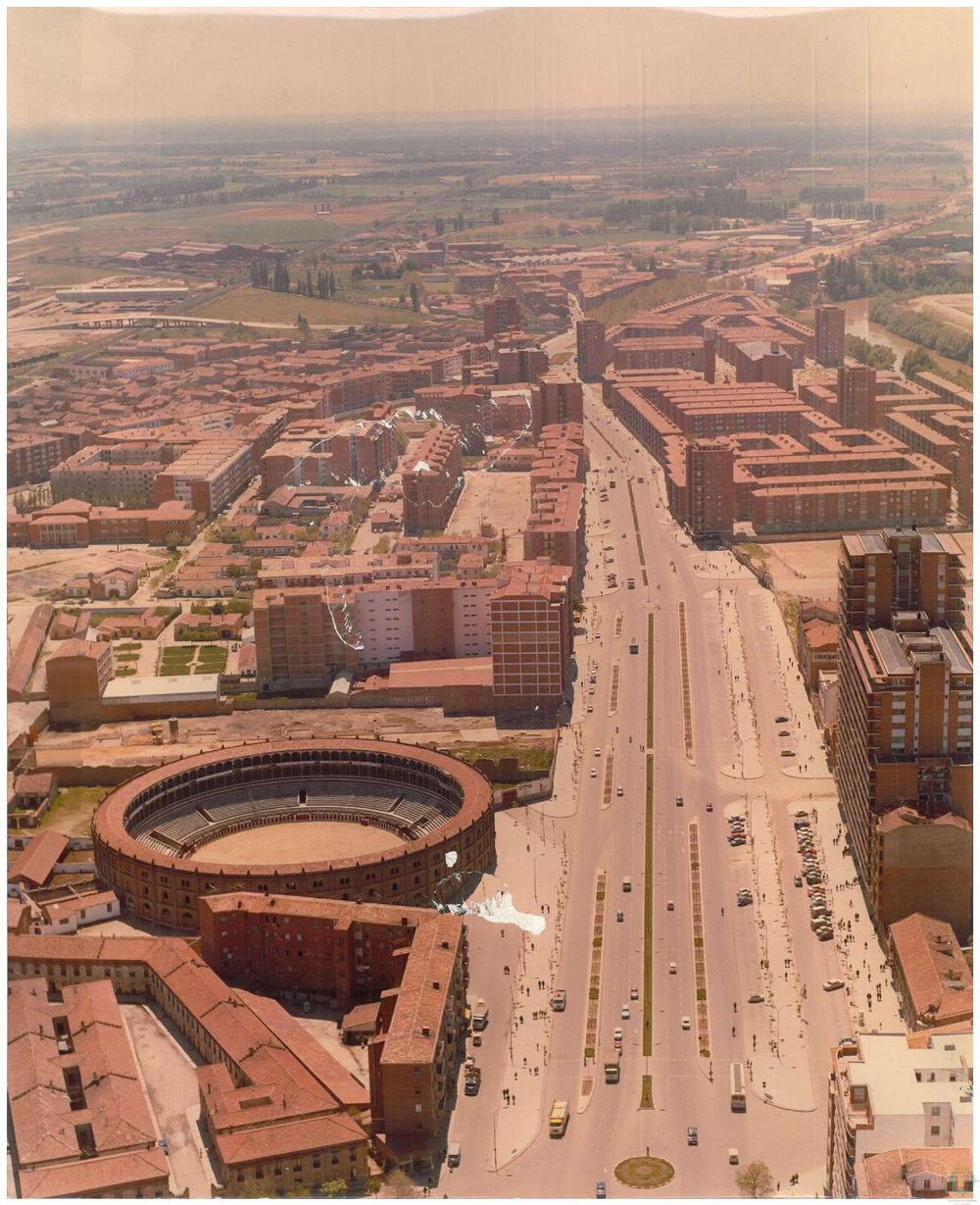 Vista de la Zona sur de Valladolid, años 70, Fondo AMVA, AM 8-54