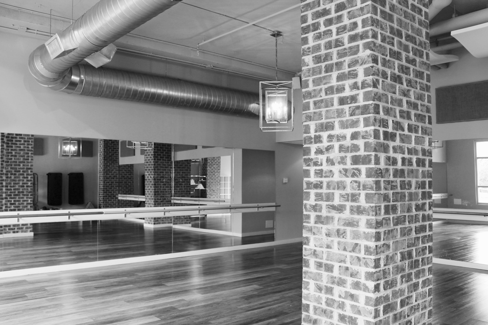 barre studio dance floor