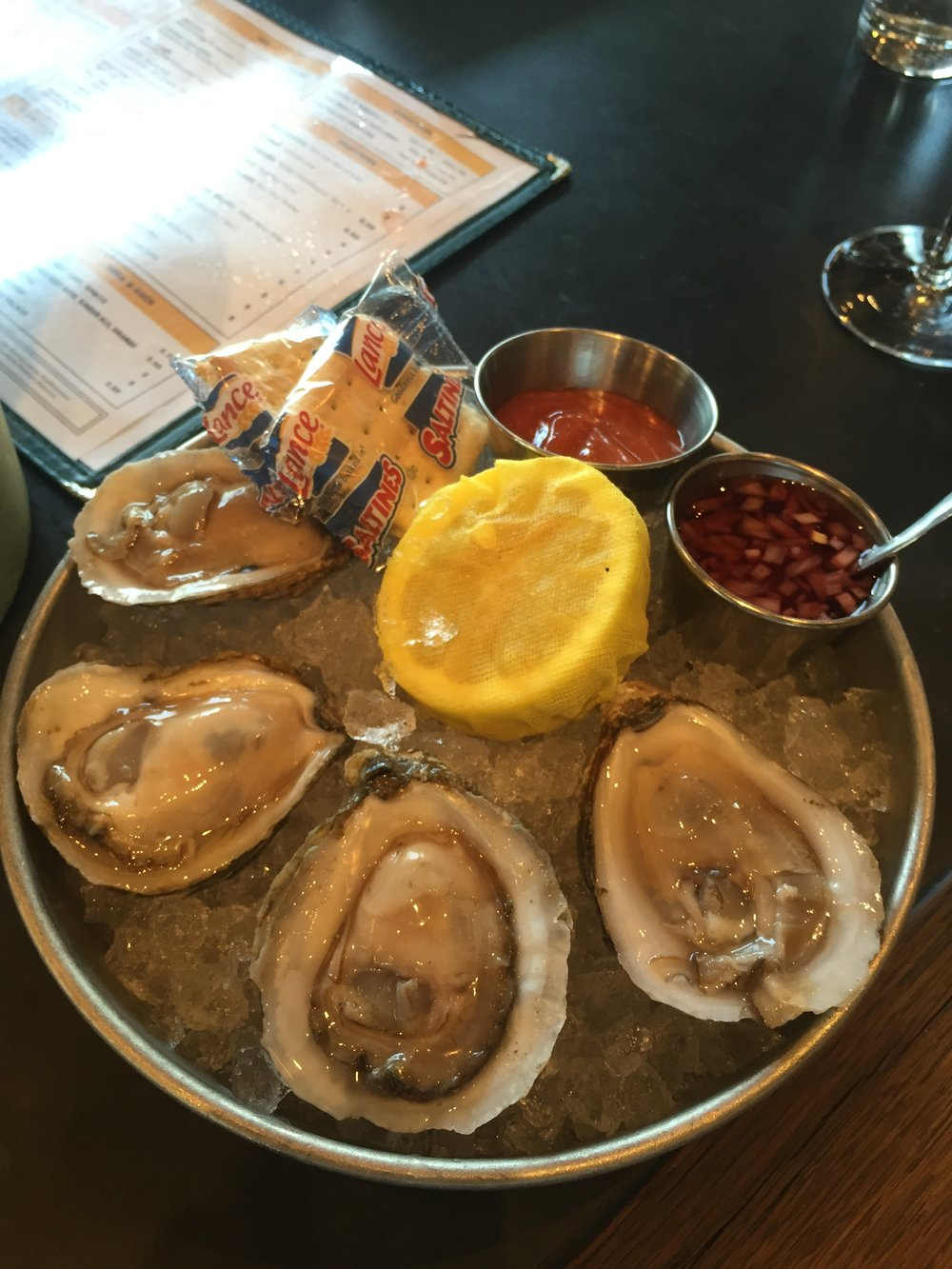 Barre South Leons Oysters