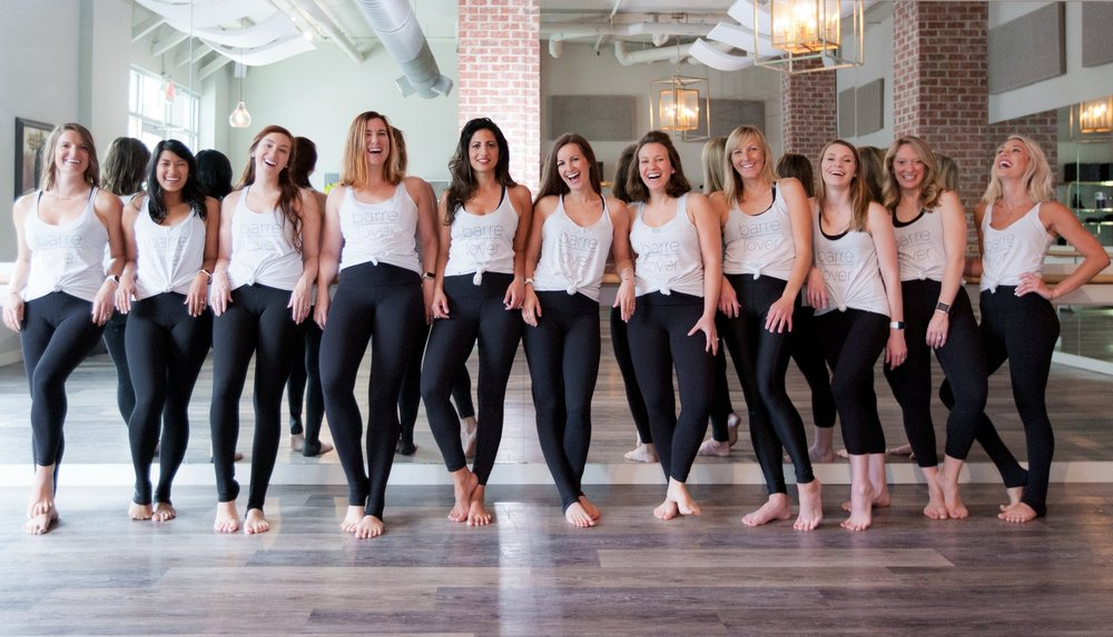 Barre South Instructor Team