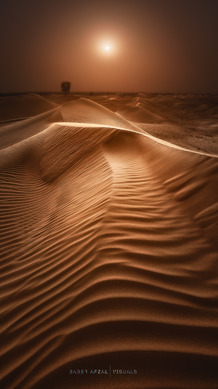 STEPPING SAND by Baber Afzal
