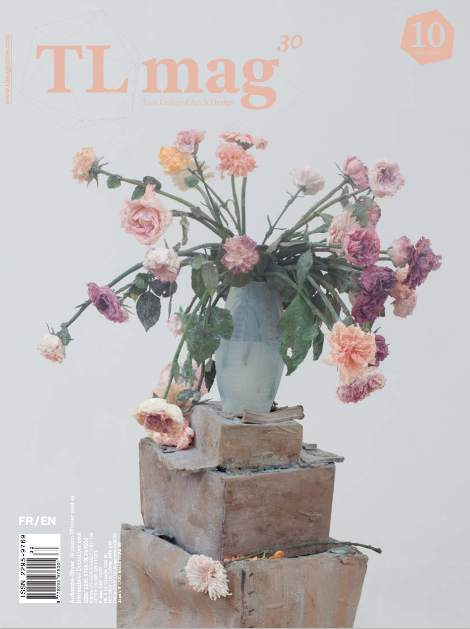 Managing Editor for TL magazine 30 / Fall Winter 2018 : Archaeology in Contemporary Art & Design. My interviews include: Mounir Fatmi, Michelle Stuart. the Institute for Digital Archaeology