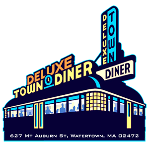 This is the digital headquarters for the Deluxe Diner Brand which includes Deluxe Town Diner in Watertown MA, Deluxe Station Diner in Newton MA, and the brand new Deluxe Depot Diner in Framingham MA. We serve breakfast, lunch, and dinner in a retro diner setting in Watertown and a Neo-Victorian setting in Newton and Framingham.