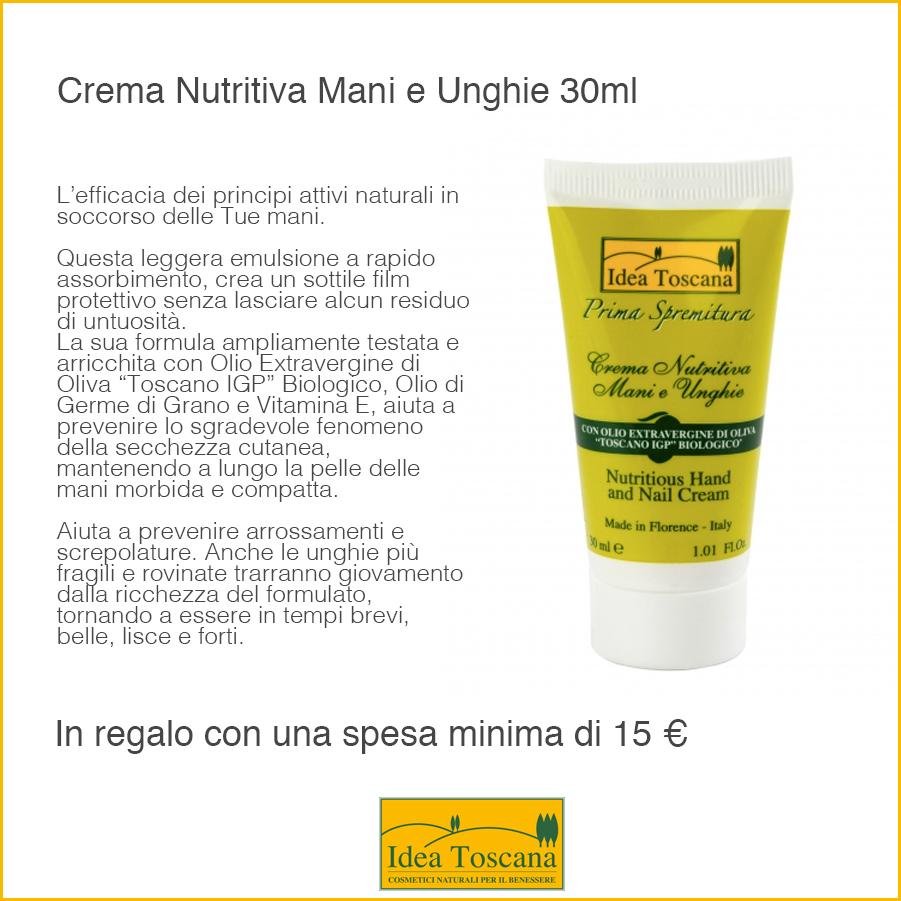 Crema Nutritiva Mani e Unghie 30ml