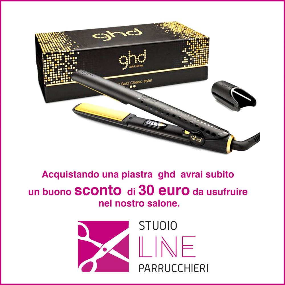 BUONO SCONTO 30 € acquistando una piastra ghd
