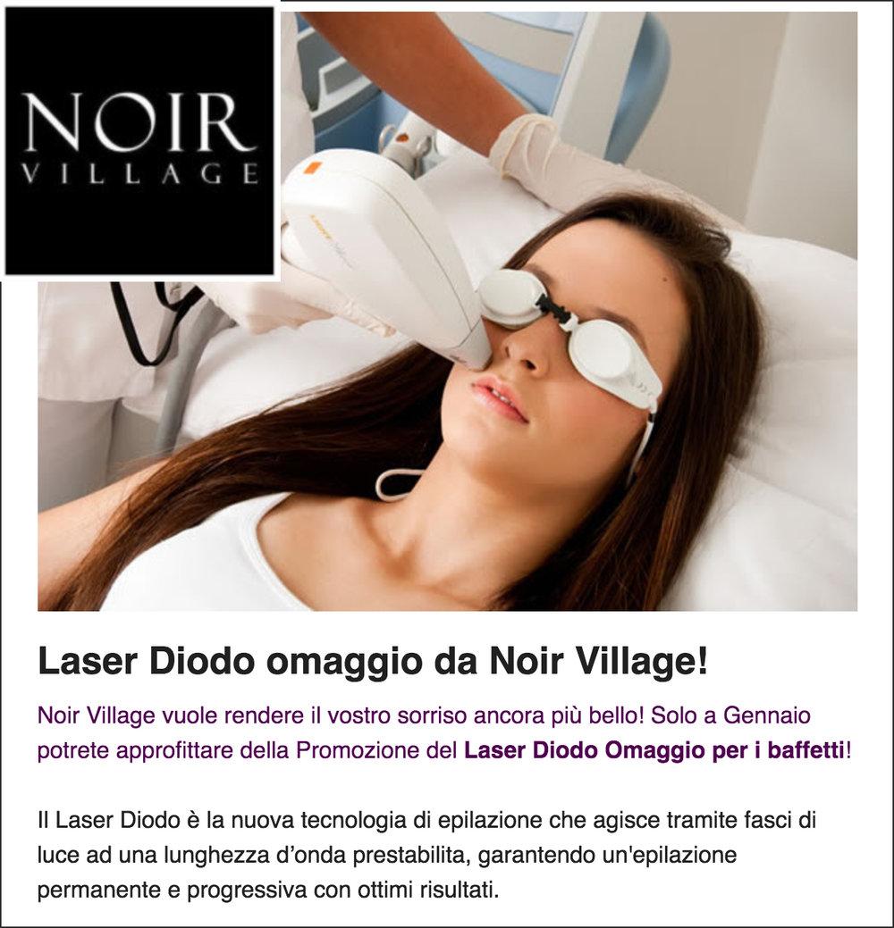 Laser Diodo omaggio da Noir Village!!!
