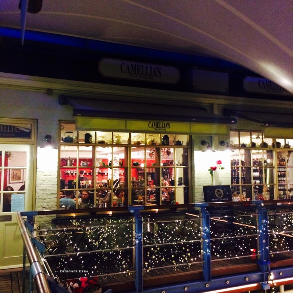 The tea house/shop