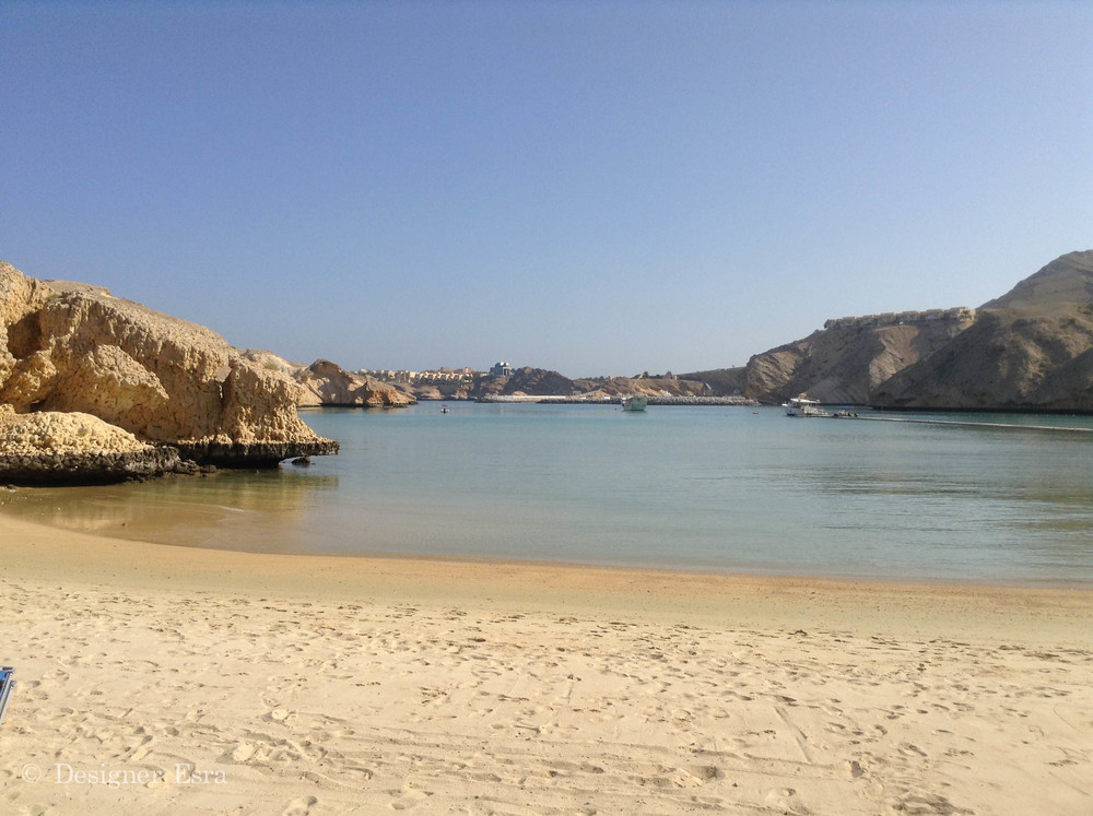 Beach in Oman