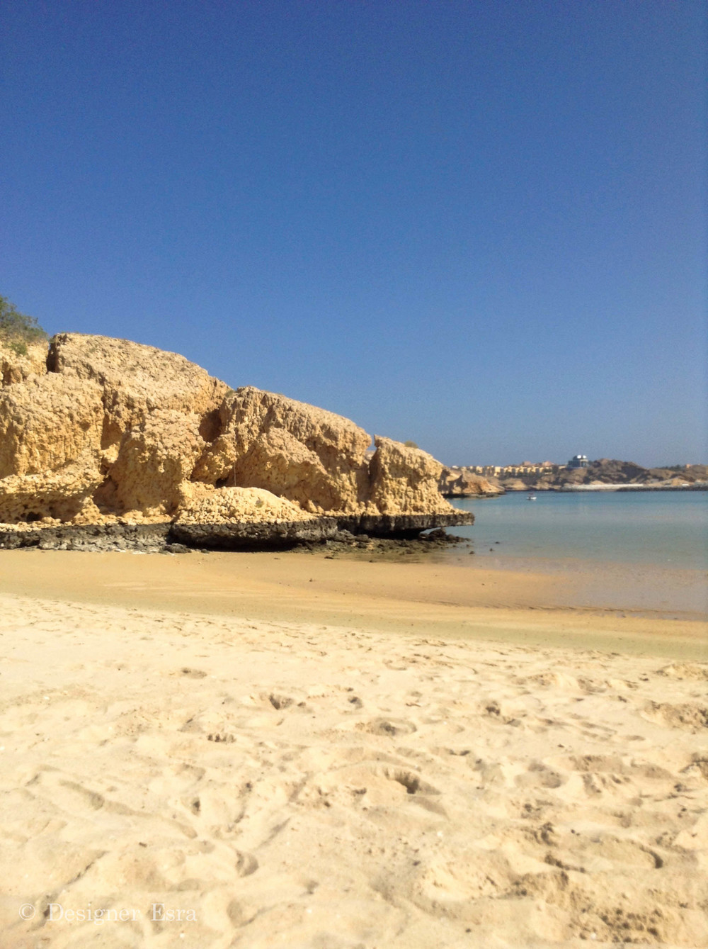 Sandy Beach Oman