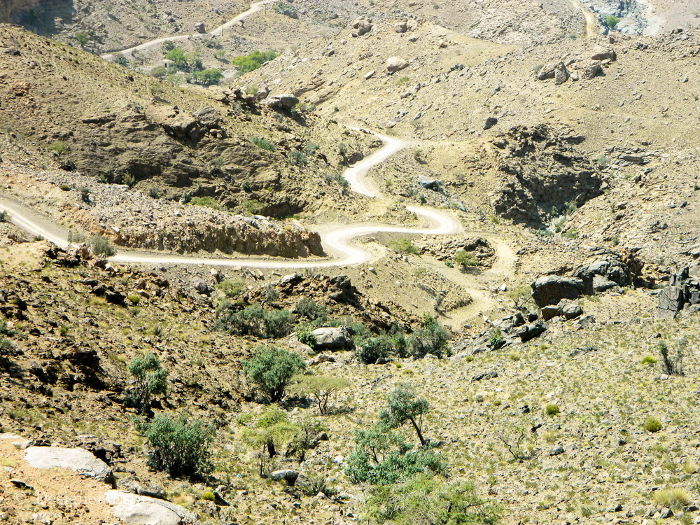 Muscat Mountain Road