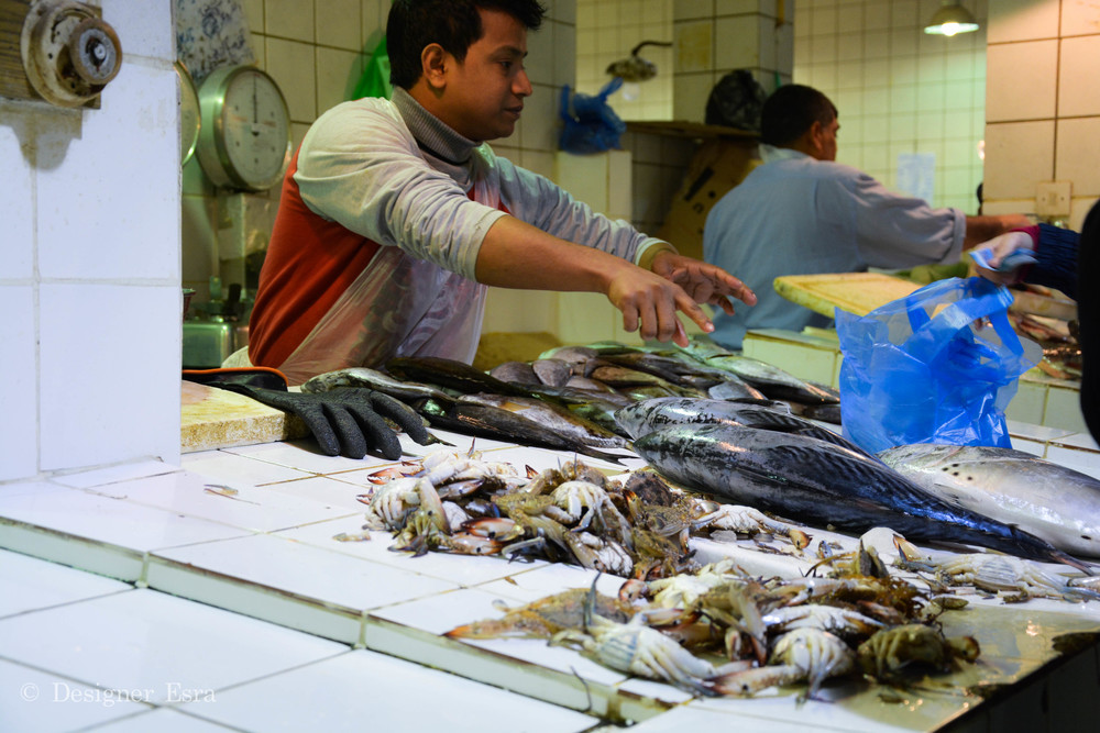 Fish Market in Kuwait