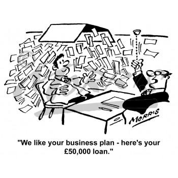 business writing comic
