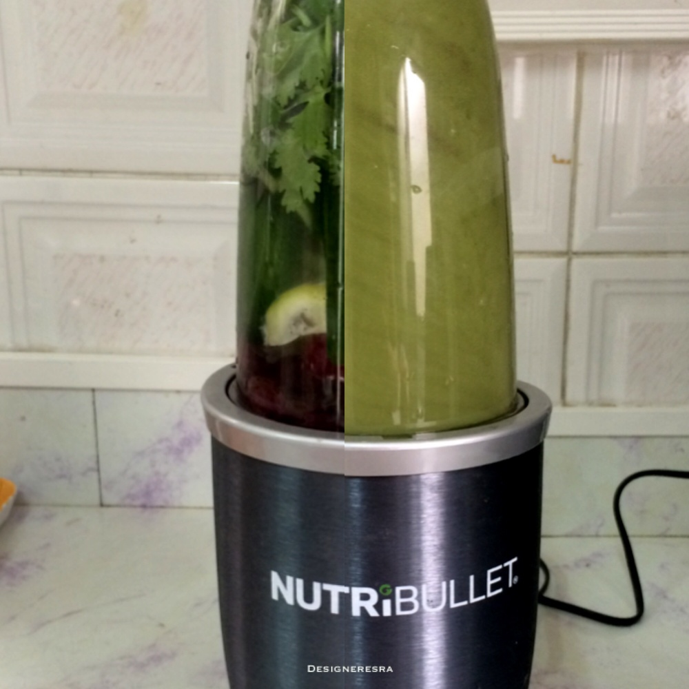 Nutribullet before and after