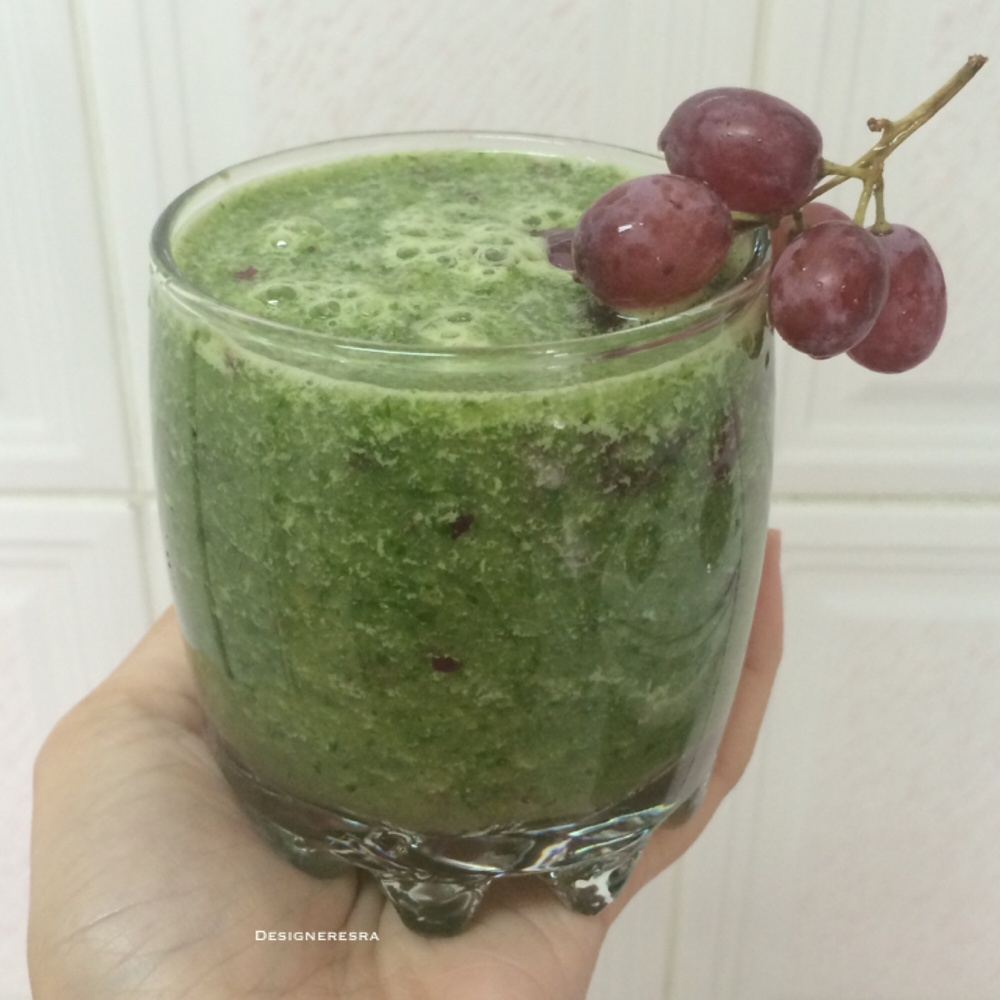 وصفة عصير صحي أخضر