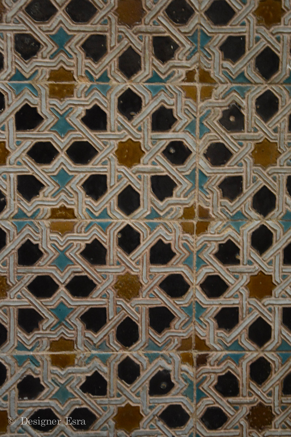 Islamic Pattern in Granada