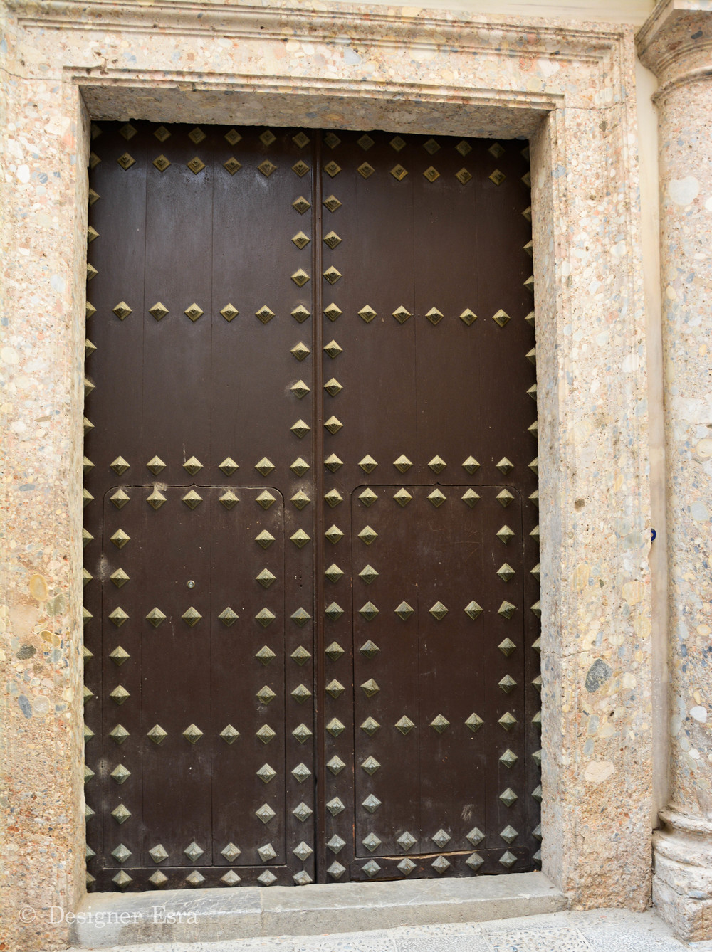 Wooden Door in Granada