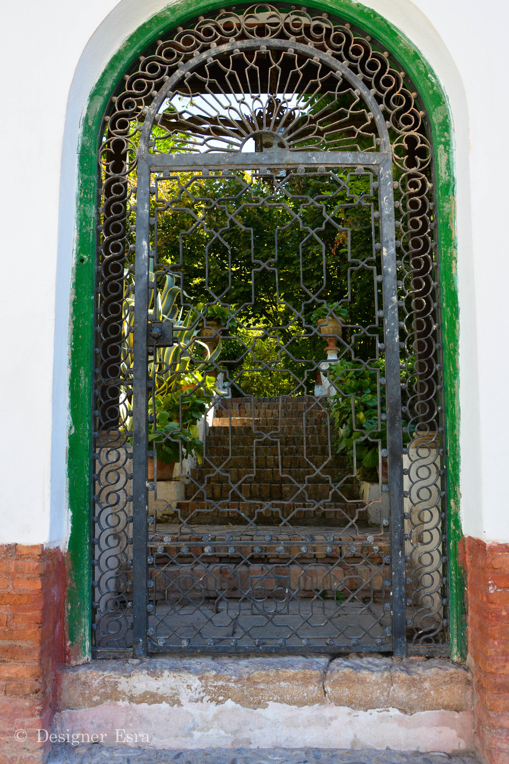 Iron Door in Granada