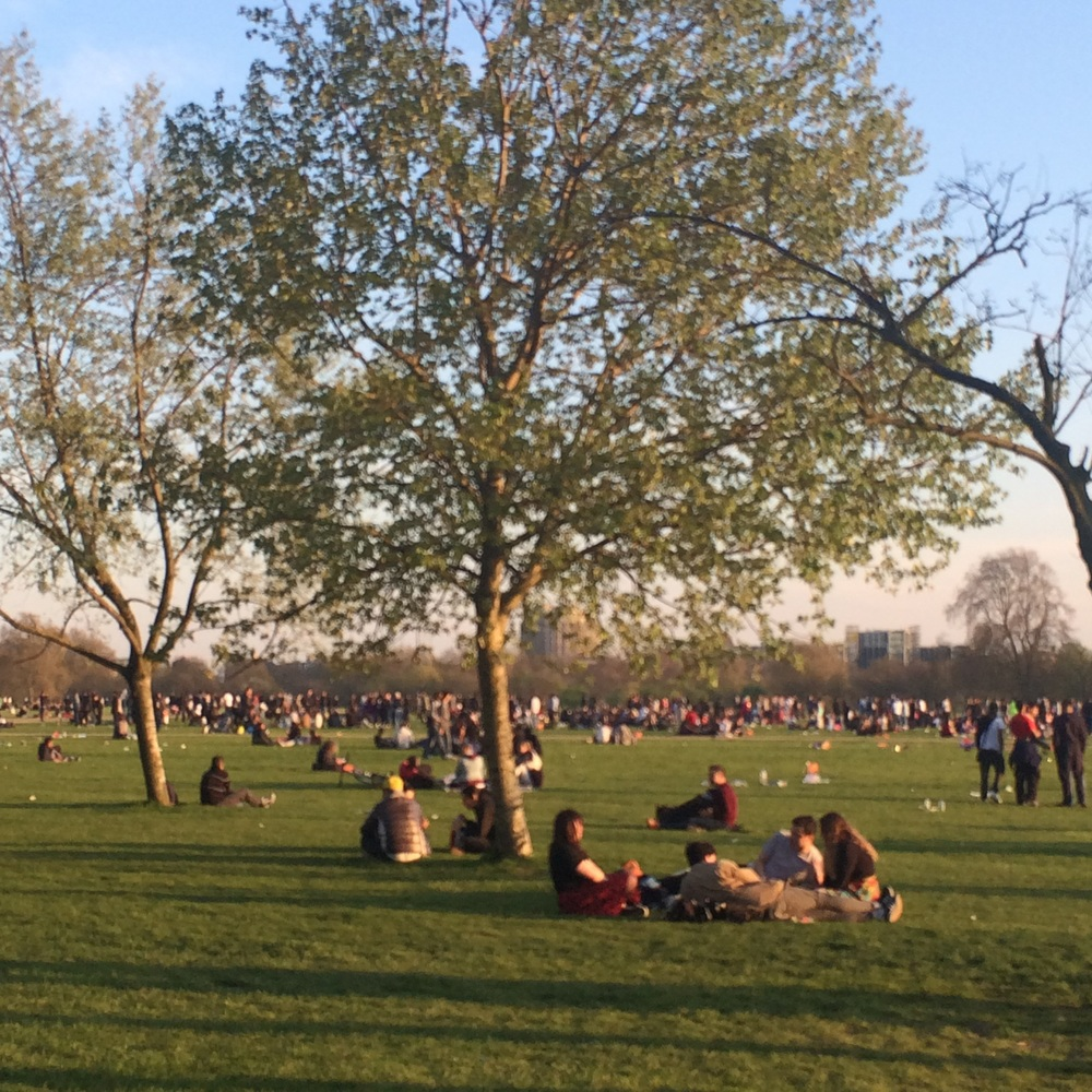 Crowded Hyde park
