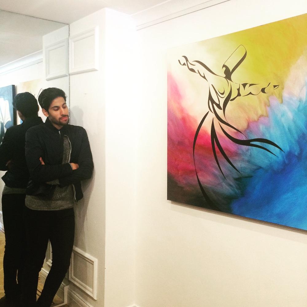 Artist Aadil Abedi