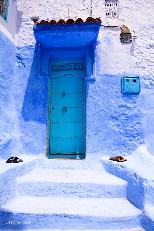 Chefchaouen, Morocco شفشاون المدينة الزرقاء في المغرب