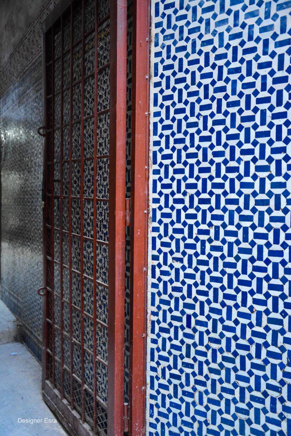 Patterns everywhere in Fez