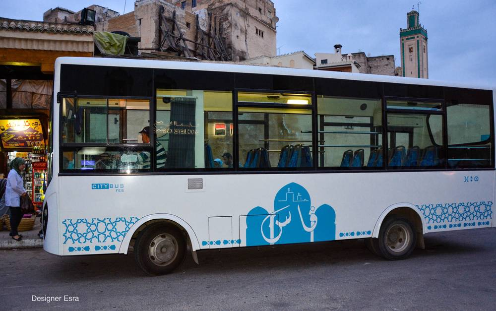 The bus in Fes