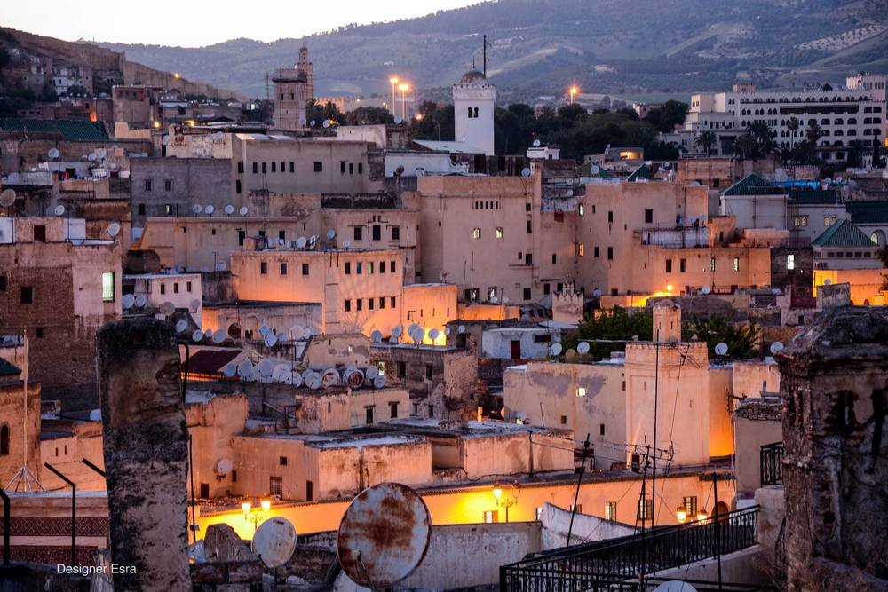 Sunset in Fez