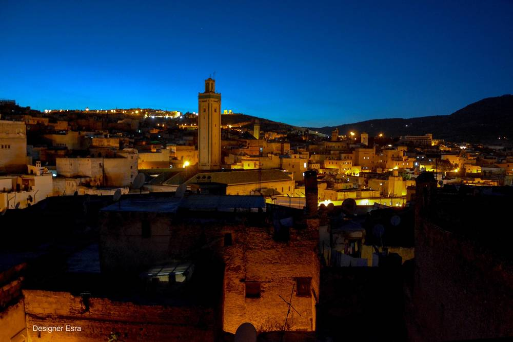 View of Fes from Riad Dar Aicha