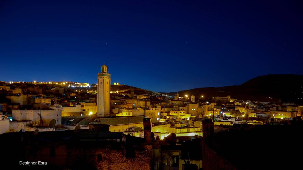 View of Fes from Riad Fes Aicha