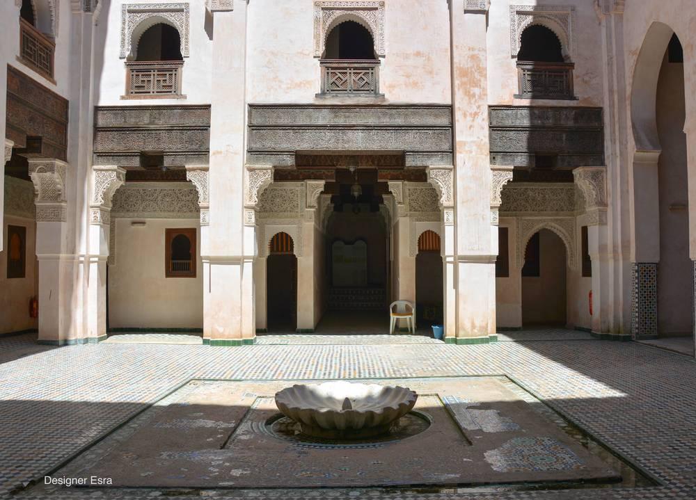 Cherratin Medersa in Fes, Morocco