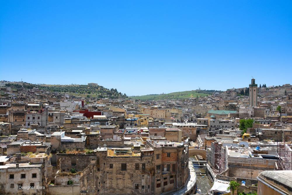 Terrace View of Fes