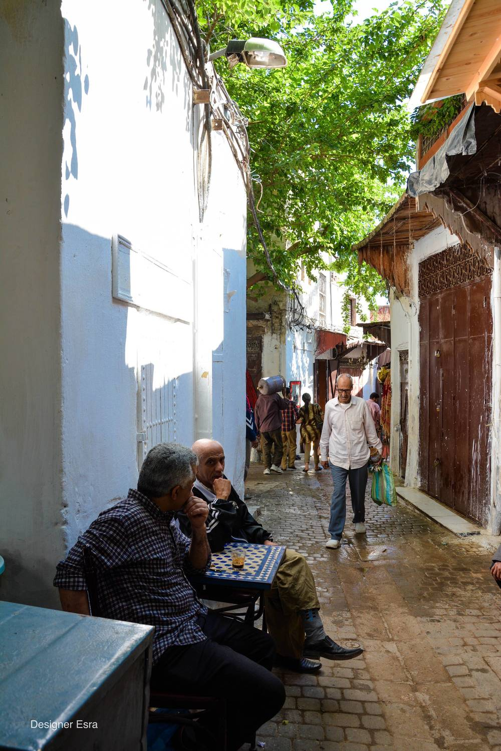 Locals in Fez