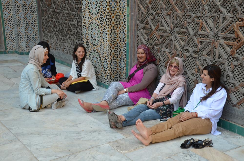 Class Tour to Bou Inania Madrasa