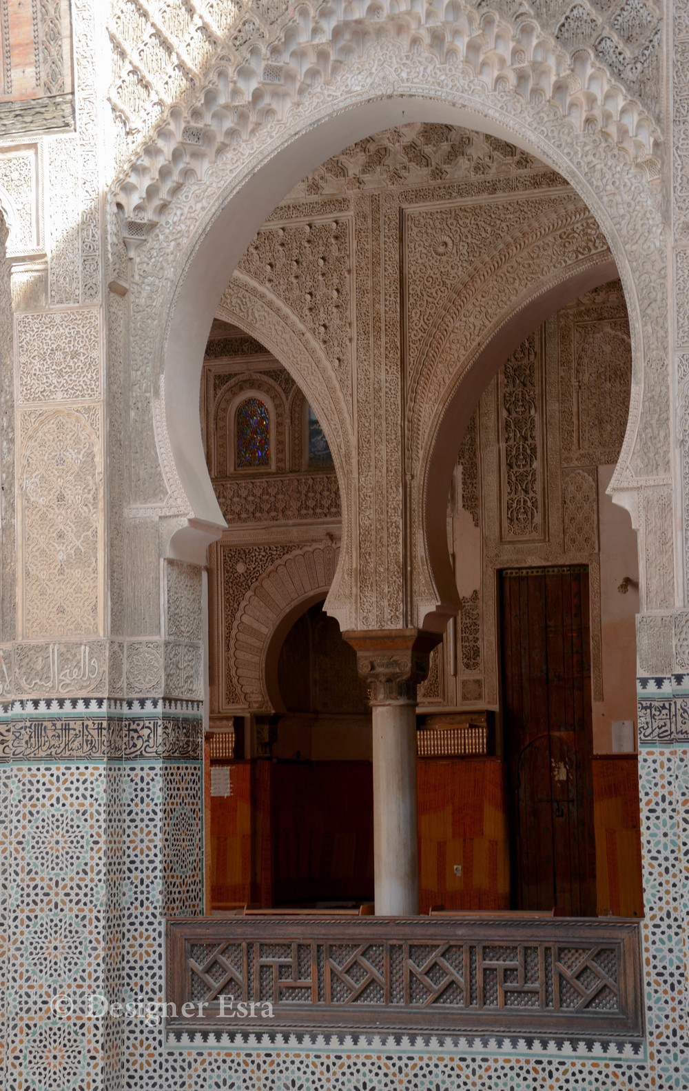 Bou Inania Madrasa in Fes, Morocco