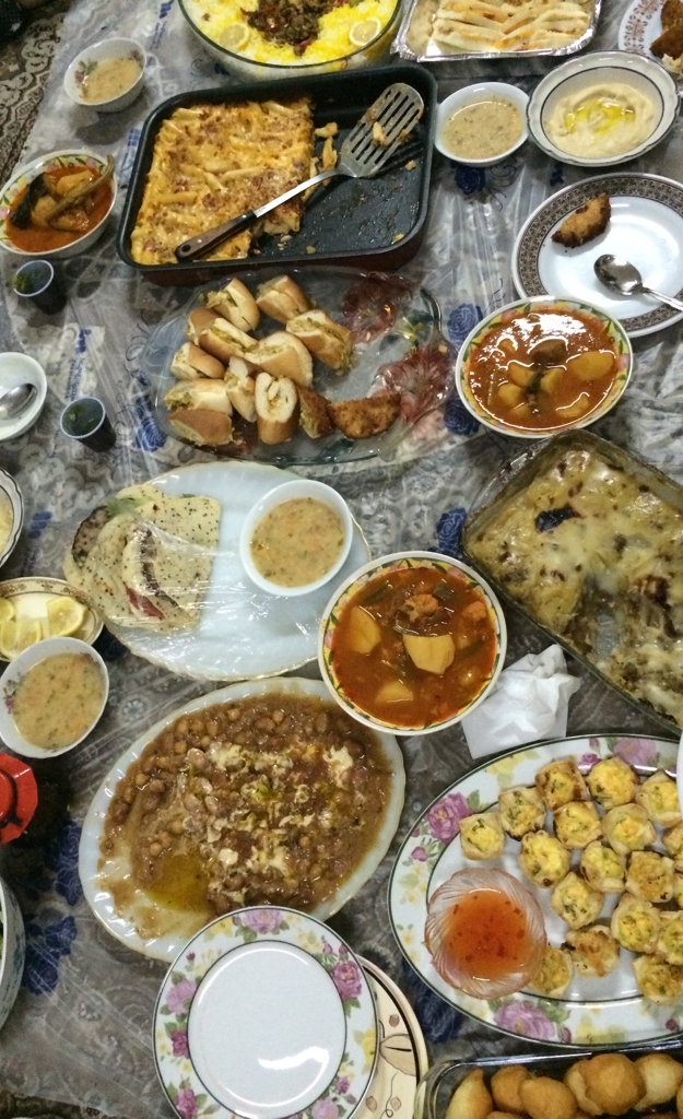 Traditional Saudi Food