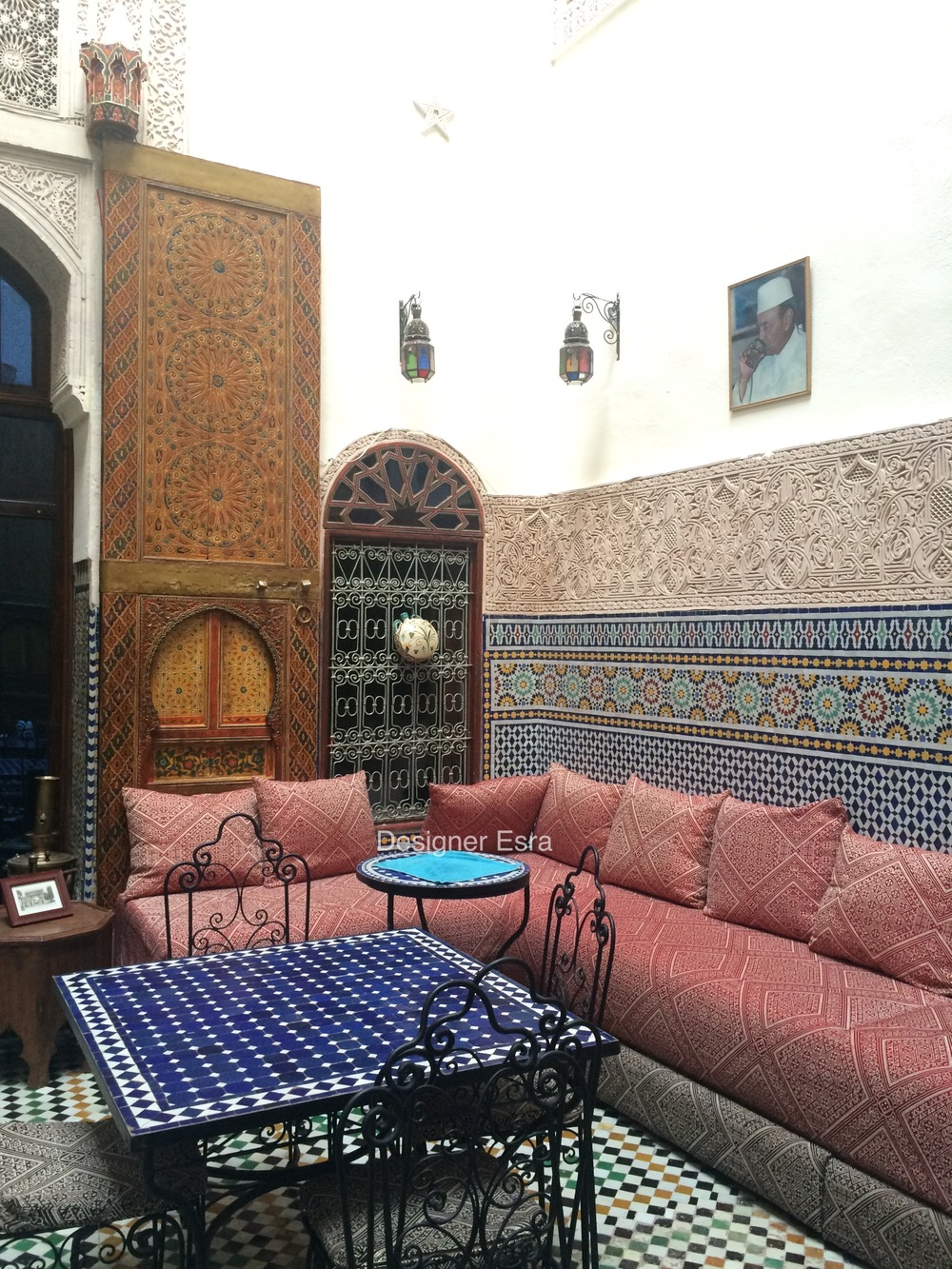 Arabian Sitting Area