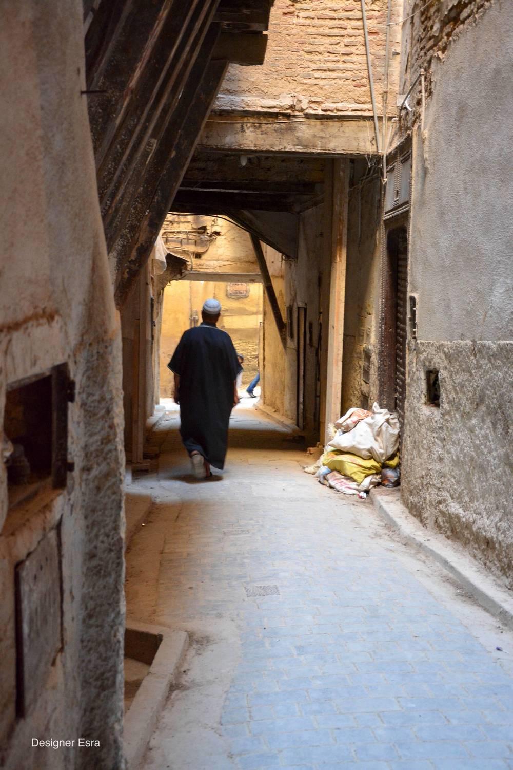 Alleyway of Fez