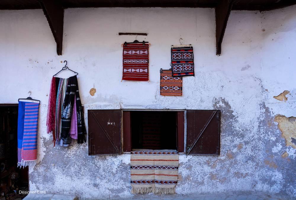 Textiles in Fez