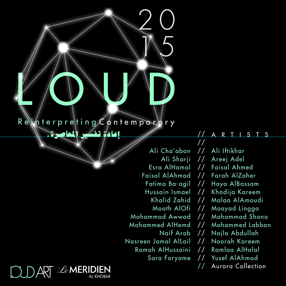 Artists list for Loud Art 2015