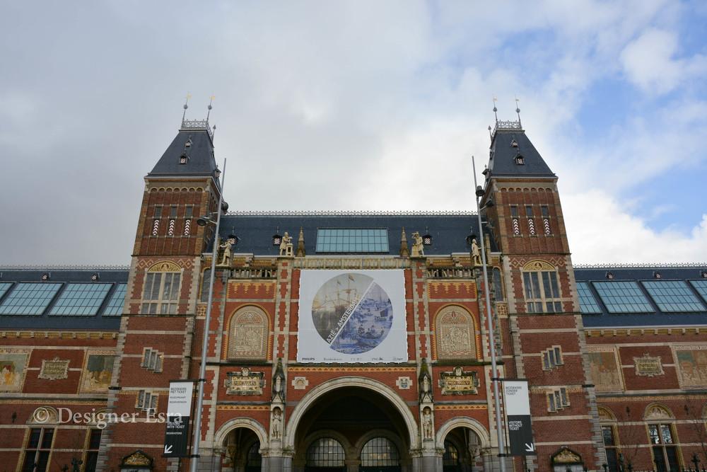 Rijks Museum in Amsterdam