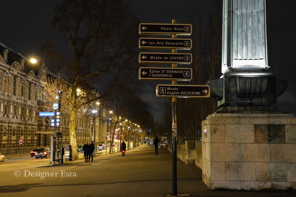 Way finding design in Paris