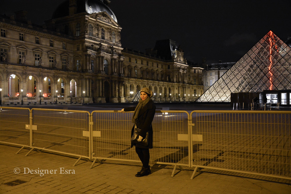 Designer Esra in Paris