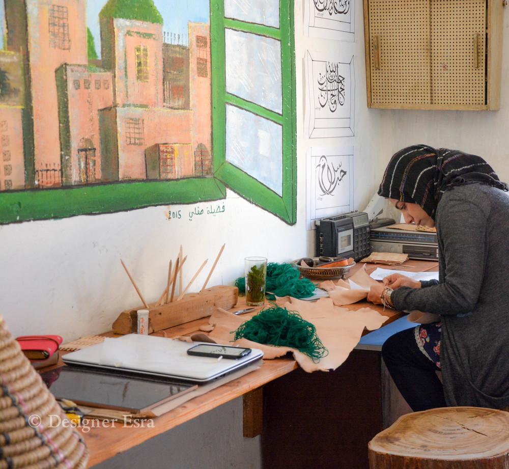 Designer Esra in Fez