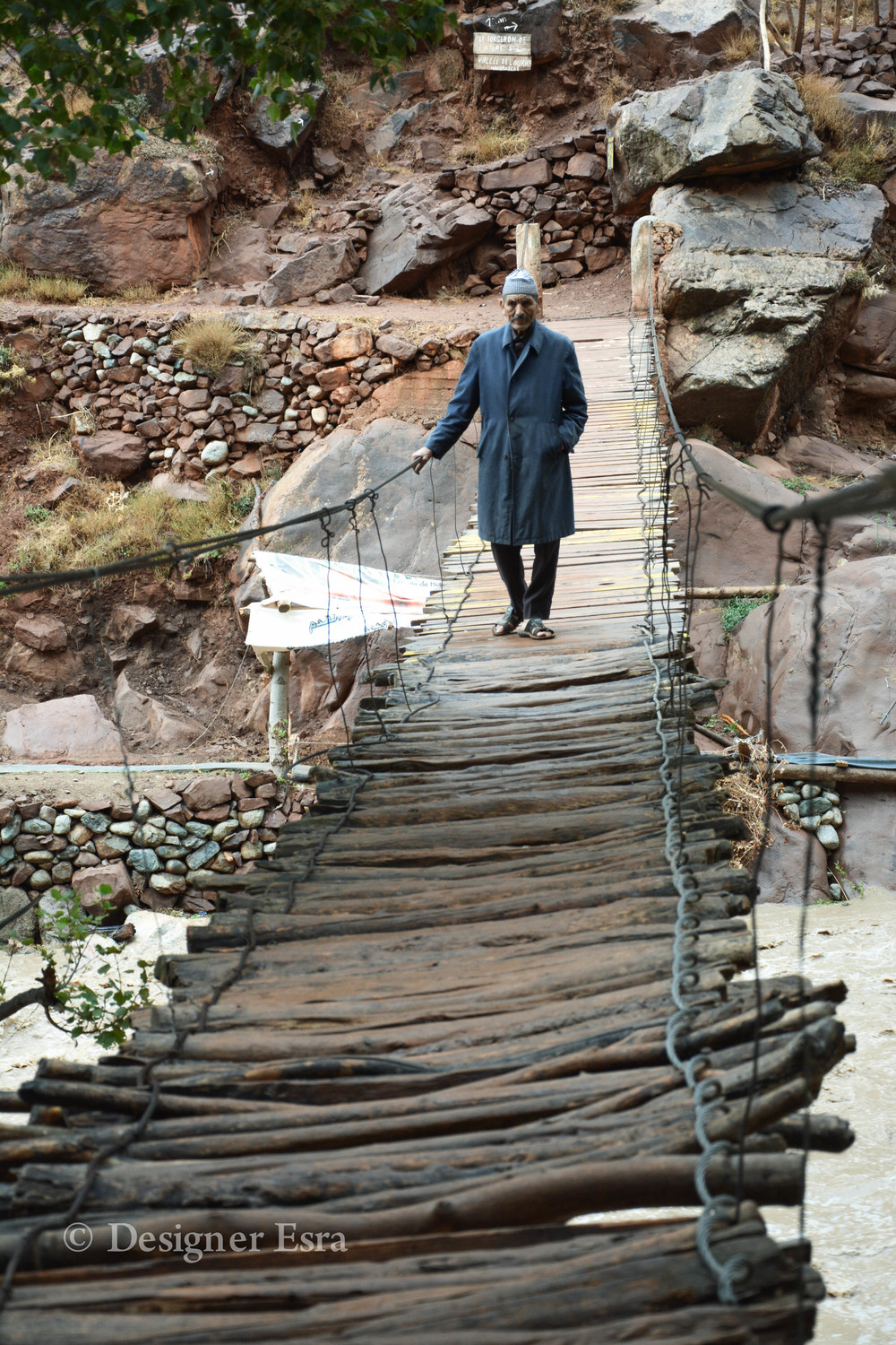 Moroccan Wooden Bridge