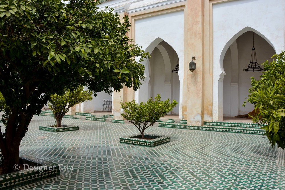Courtyard in Koutoubia Mosque