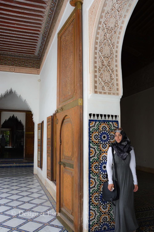 Designer Esra in Bahia Palace