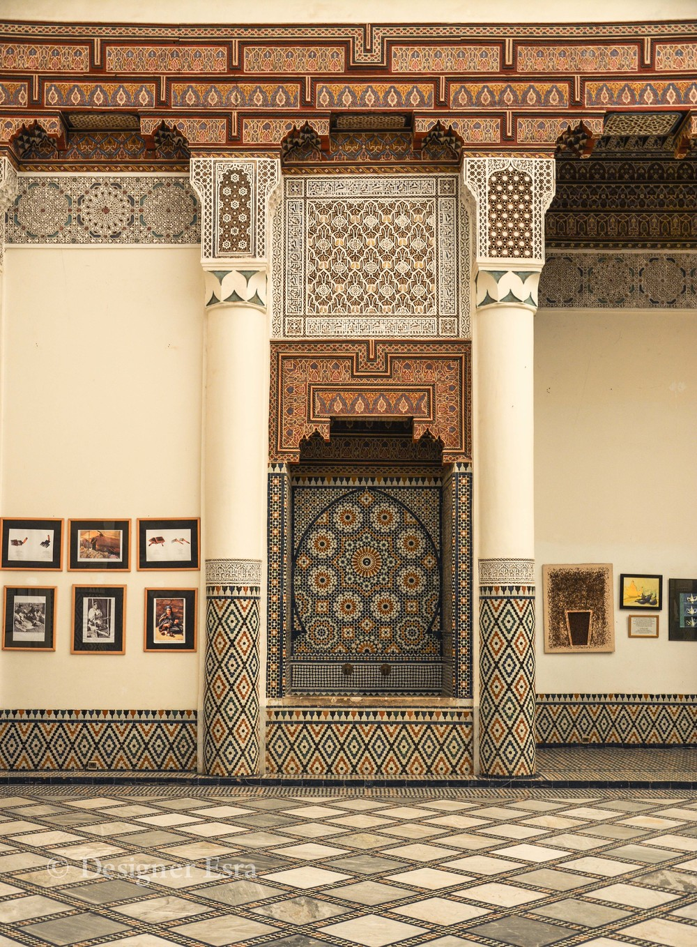 Moorish Islamic Pattern and Islamic Interior Design