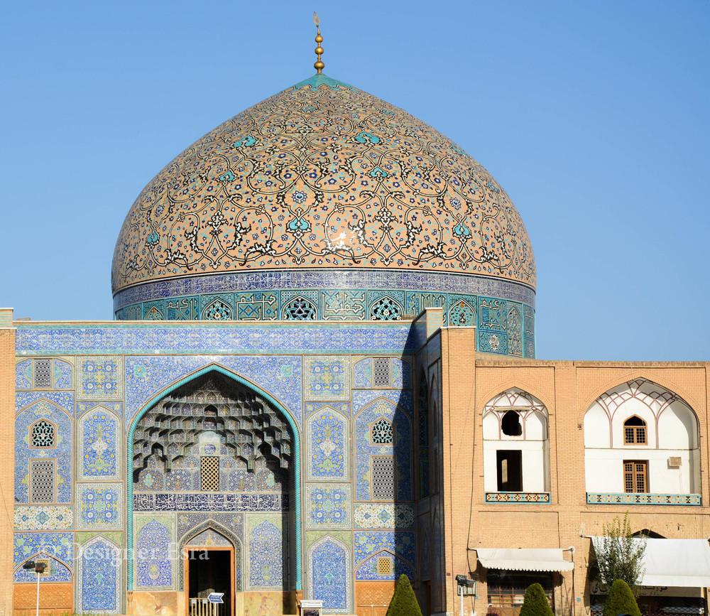 Shaykh Lutfallah Mosque's Dome in Iran قبة مسجد الشيخ لطف الله في ايران